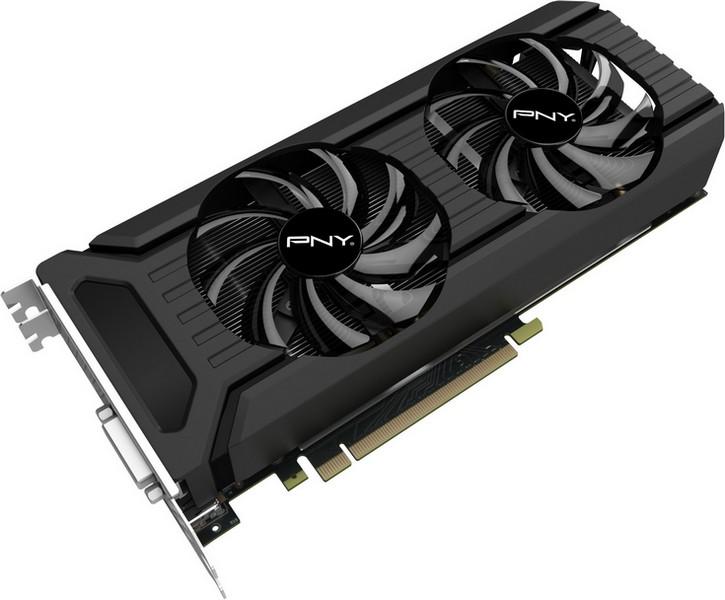 Видеокарта PNY GeForce GTX 1060 6GB получила хороший охладитель