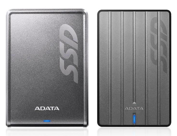 Adata представила внешние SSD SC660 и SV620