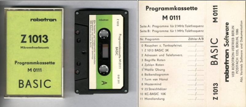 Вычислительная техника стран СЭВ. Часть первая. ГДР - 63