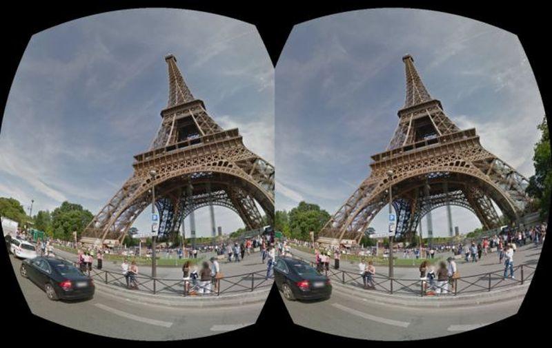 Кулуары VR. Библиотеки для отображения панорам 360* - 3