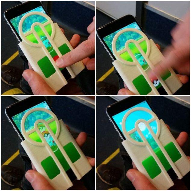 Создан прицел для iPhone для стрельбы по покемонам
