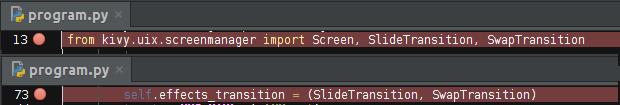 Простые сладкие приложения с Kivy - 11
