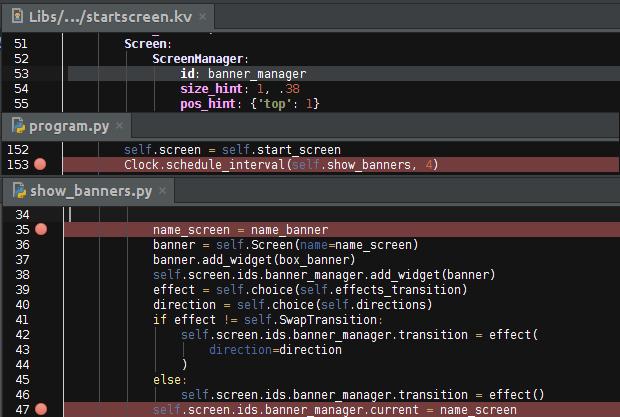 Простые сладкие приложения с Kivy - 9
