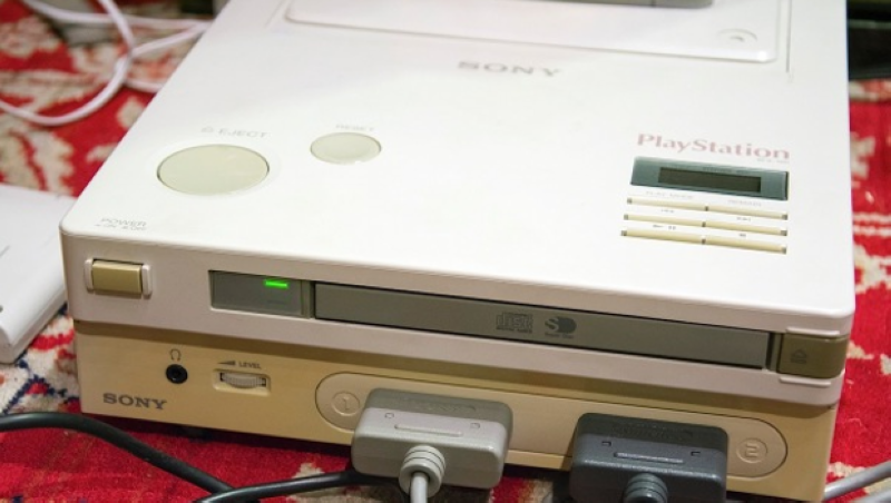 В Nintendo PlayStation починили CD привод - 1