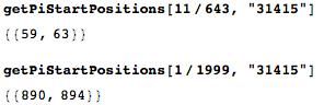 Даты среди цифр числа Пи: некоторые мысли с позиции статистики и нумерологии - 106