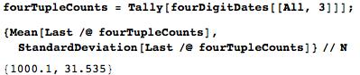 Даты среди цифр числа Пи: некоторые мысли с позиции статистики и нумерологии - 24