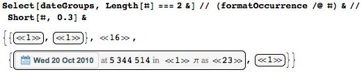 Даты среди цифр числа Пи: некоторые мысли с позиции статистики и нумерологии - 35