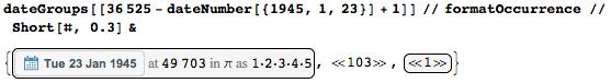 Даты среди цифр числа Пи: некоторые мысли с позиции статистики и нумерологии - 39