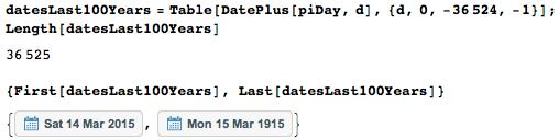 Даты среди цифр числа Пи: некоторые мысли с позиции статистики и нумерологии - 5