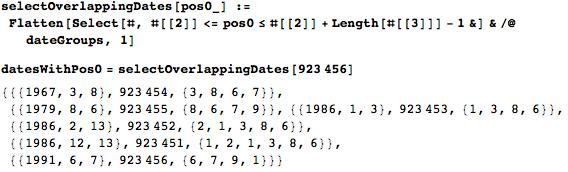 Даты среди цифр числа Пи: некоторые мысли с позиции статистики и нумерологии - 61