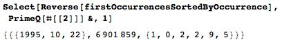 Даты среди цифр числа Пи: некоторые мысли с позиции статистики и нумерологии - 76