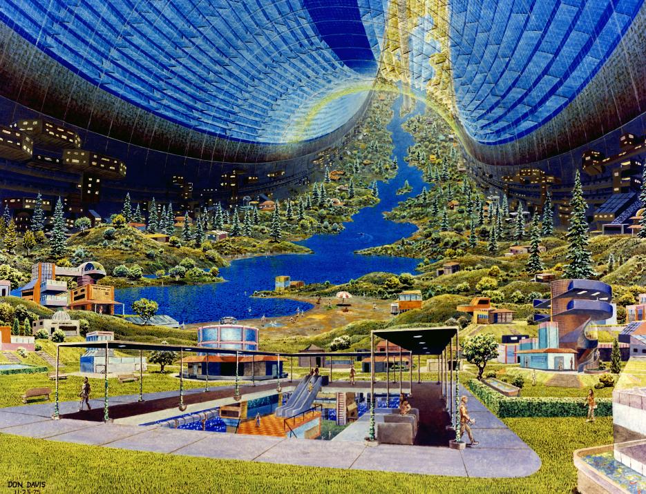 Космические жилища: как мы будем жить в космосе - 14