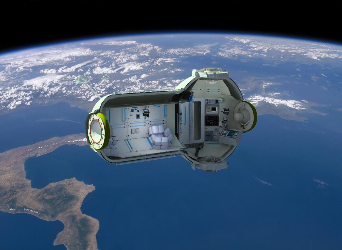 Космические жилища: как мы будем жить в космосе - 21