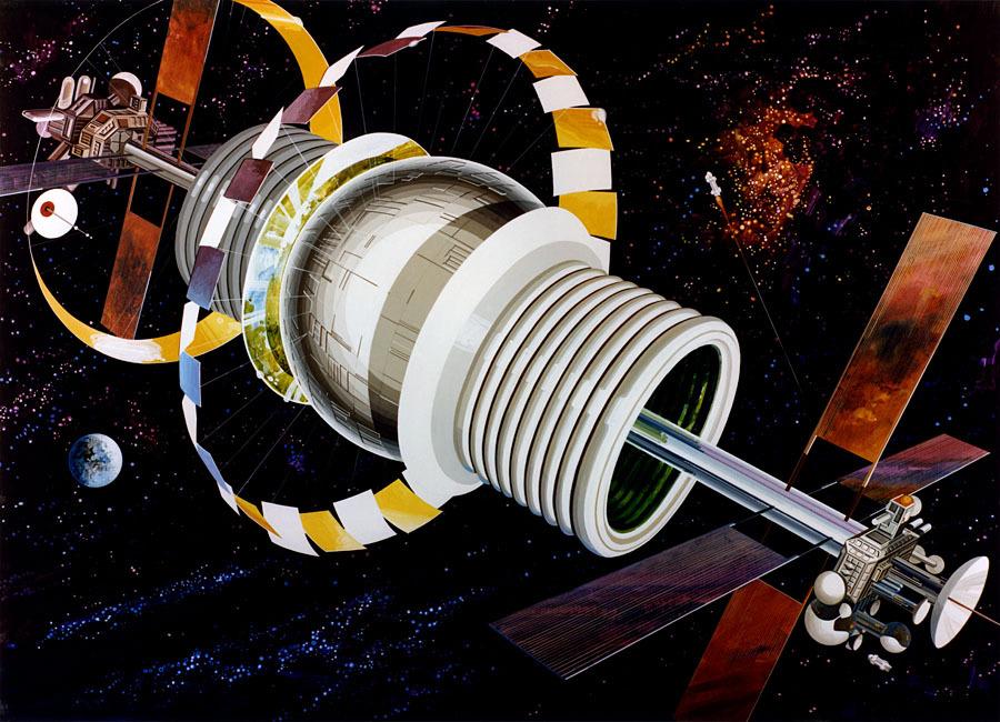 Космические жилища: как мы будем жить в космосе - 6