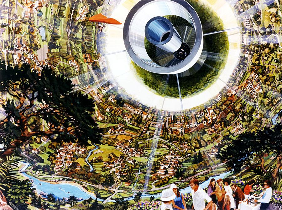Космические жилища: как мы будем жить в космосе - 7