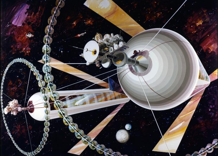 Космические жилища: как мы будем жить в космосе - 8