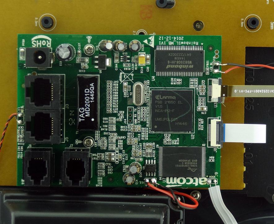 Обзор IP-телефона ATCOM R1L - 10