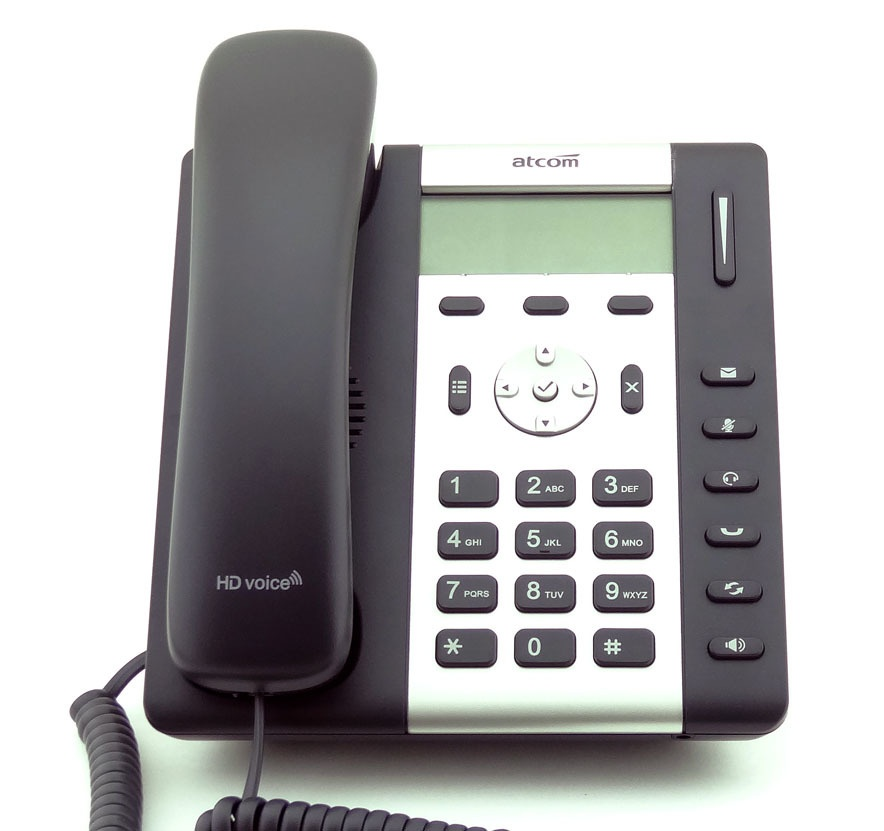 Обзор IP-телефона ATCOM R1L - 12