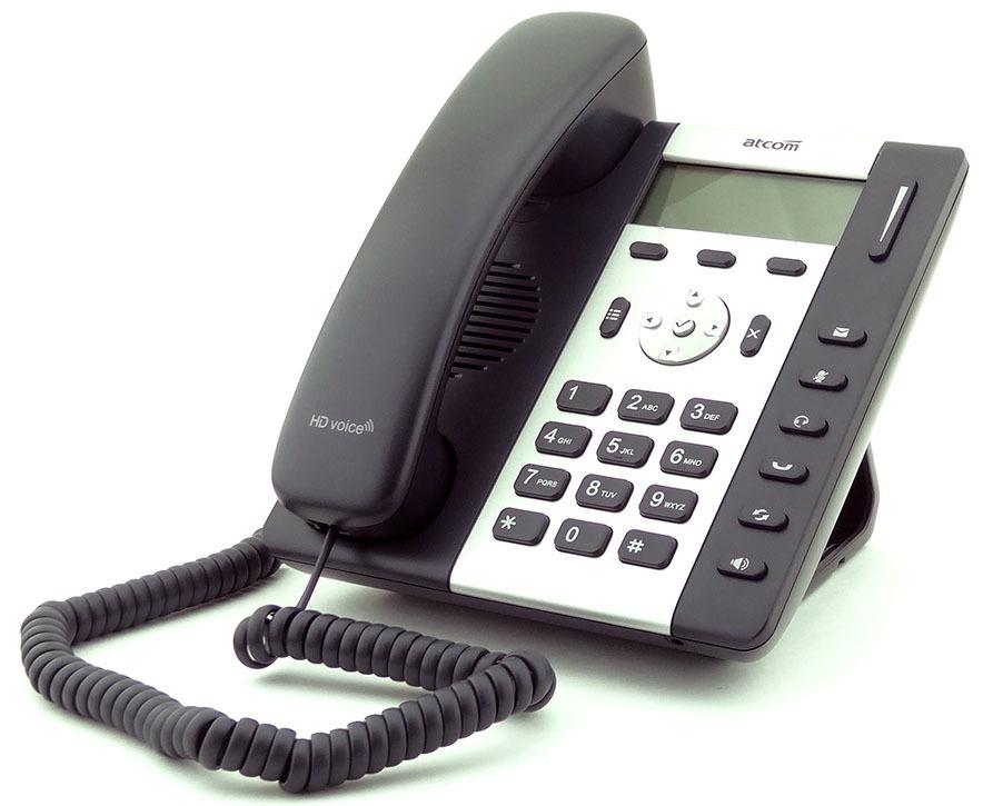Обзор IP-телефона ATCOM R1L - 2