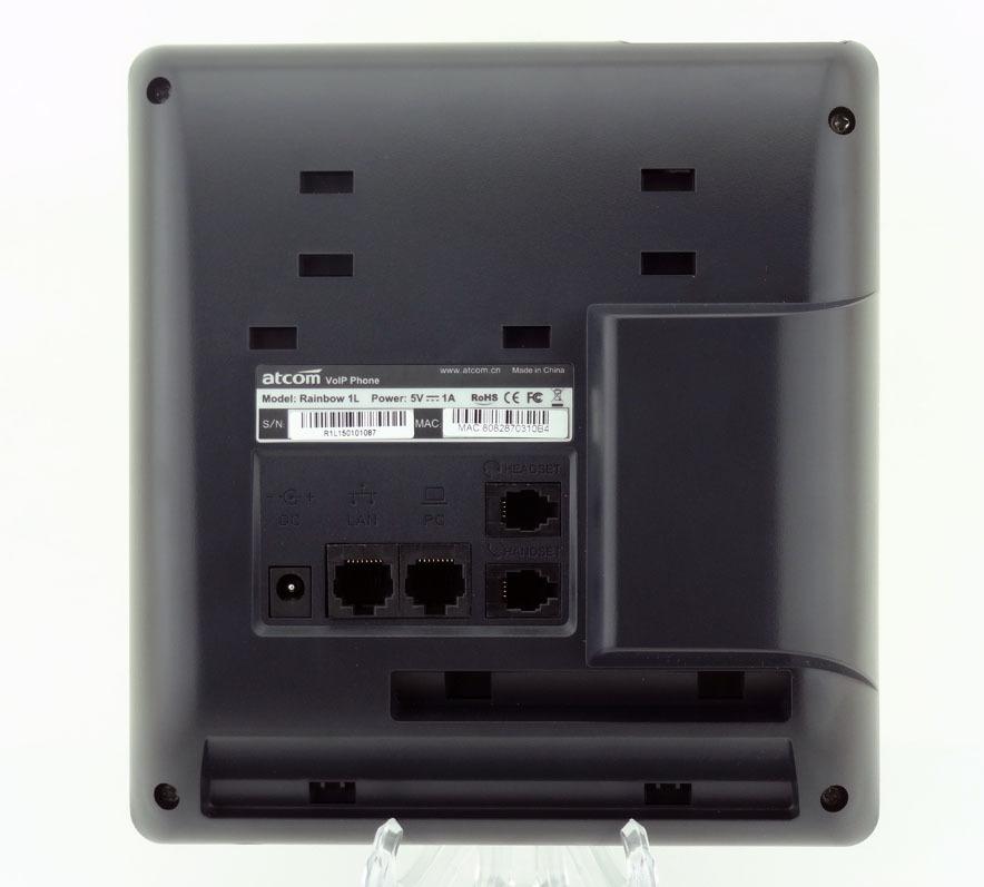 Обзор IP-телефона ATCOM R1L - 6