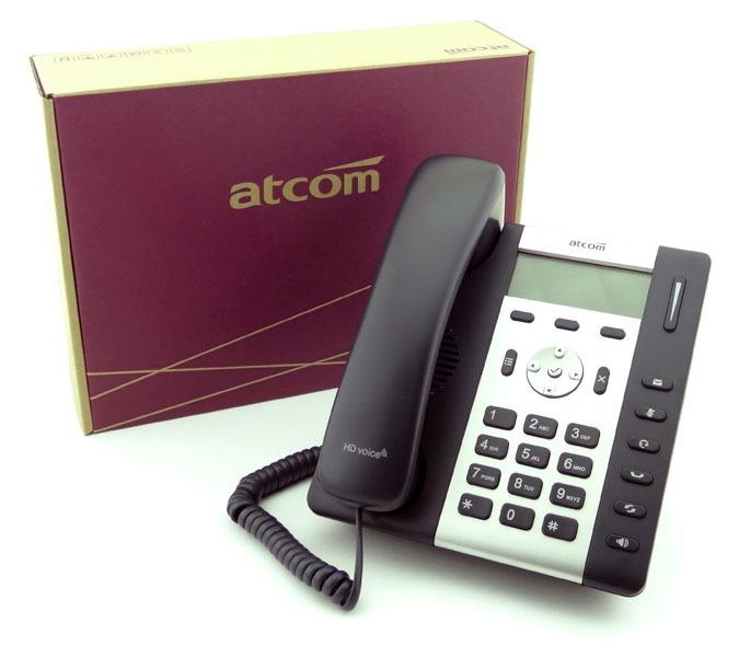 Обзор IP-телефона ATCOM R1L - 1