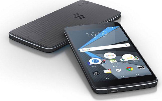 Первое изображение BlackBerry Neon демонстрирует ничем не примечательный смартфон с ОС Android