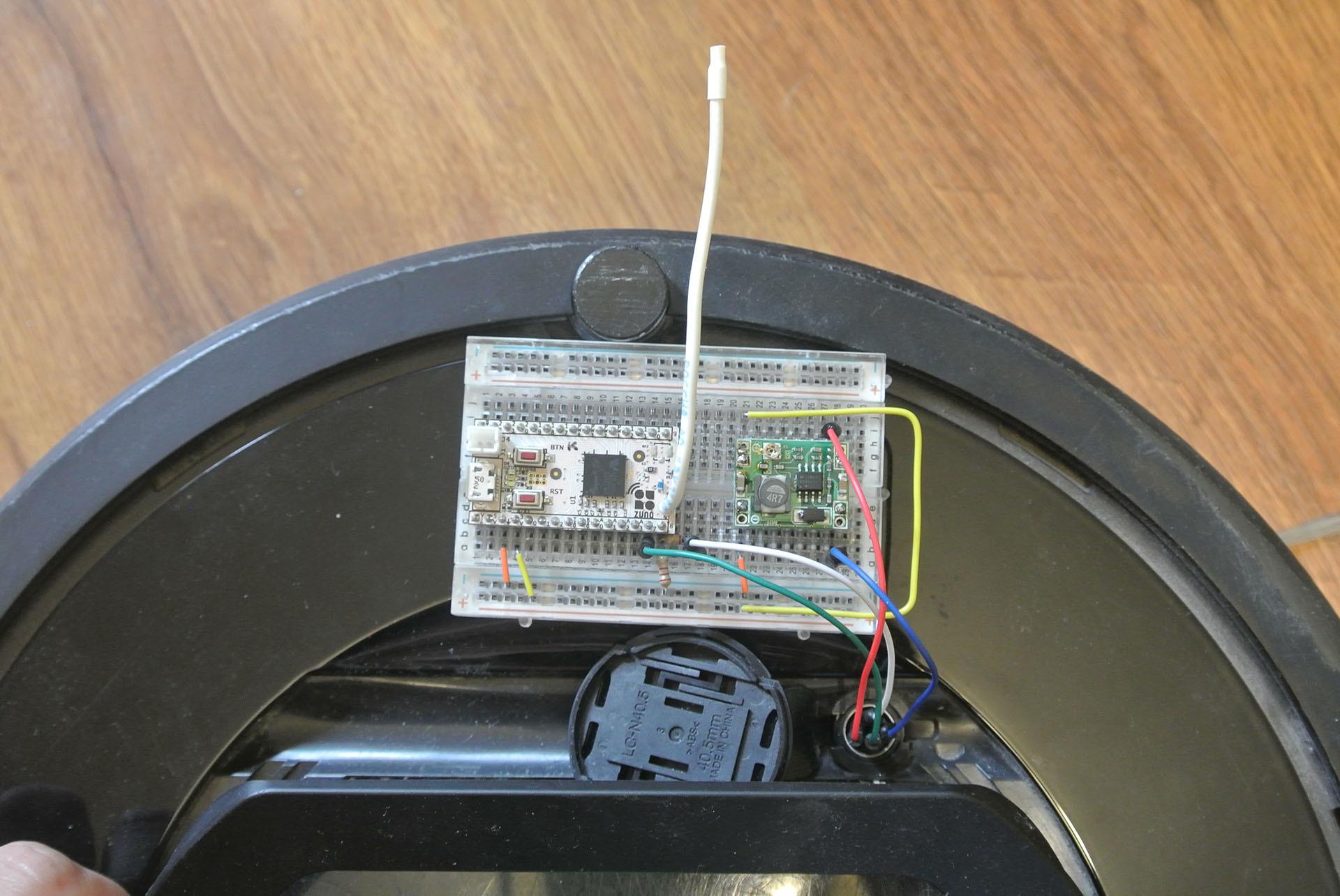 Разрабатываем Z-Wave устройство для управления пылесосом iRobot Roomba - 7