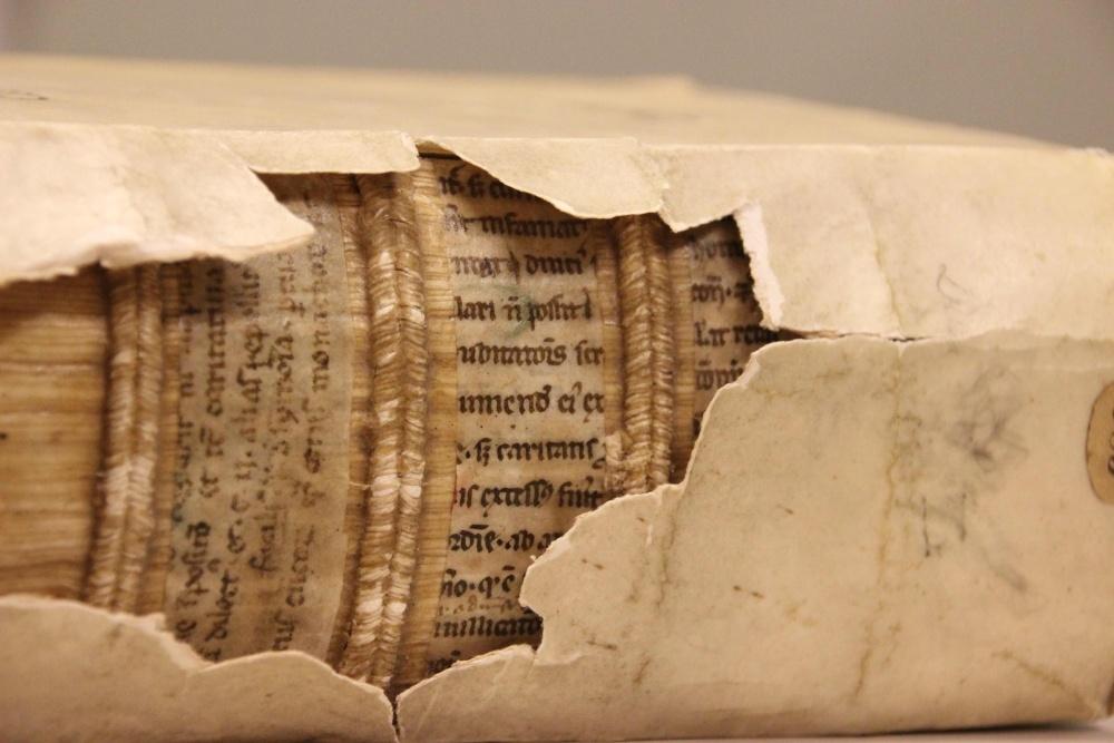 Рентгеновские лучи помогли найти спрятанную средневековую библиотеку - 1