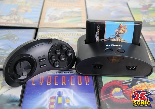 Sega выпустила настольную и портативную версии Nega Drive