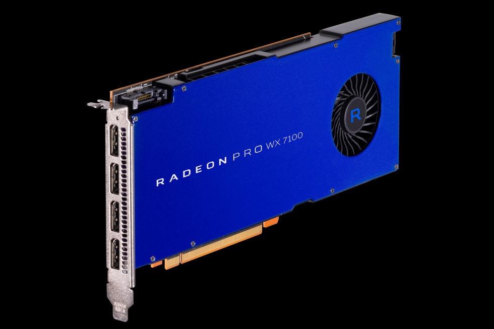 AMD представила карту Radeon Pro SSG с возможностью установки двух SSD - 2
