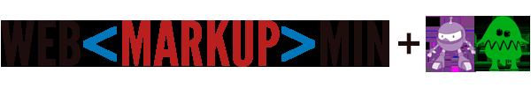 Логотипы WebMarkupMin, .NET Core и NUglify