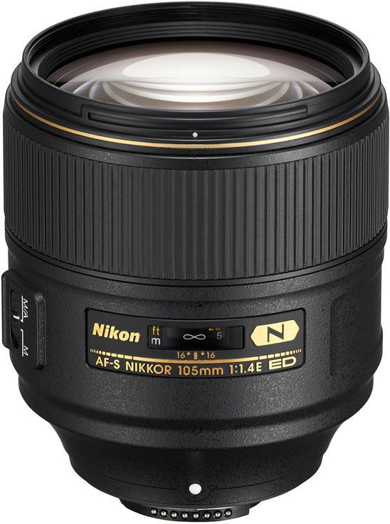 Представлен портретный объектив AF-S Nikkor 105mm f/1.4E ED