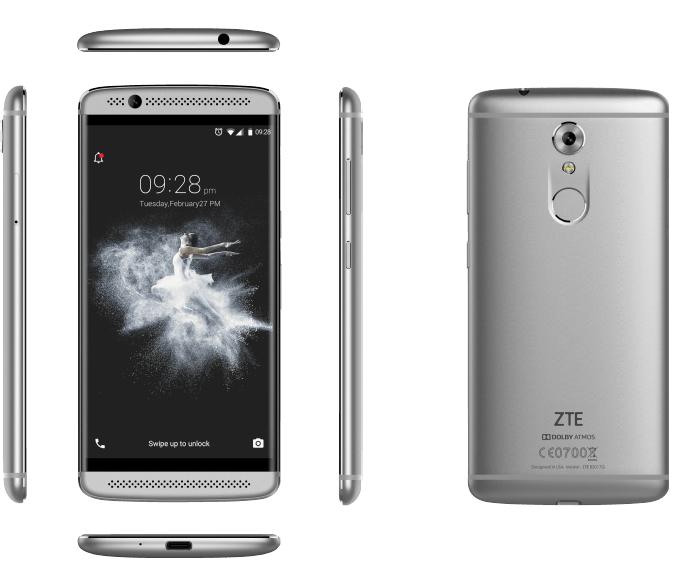 Смартфон ZTE Axon 7 Mini пока еще не представлен официально