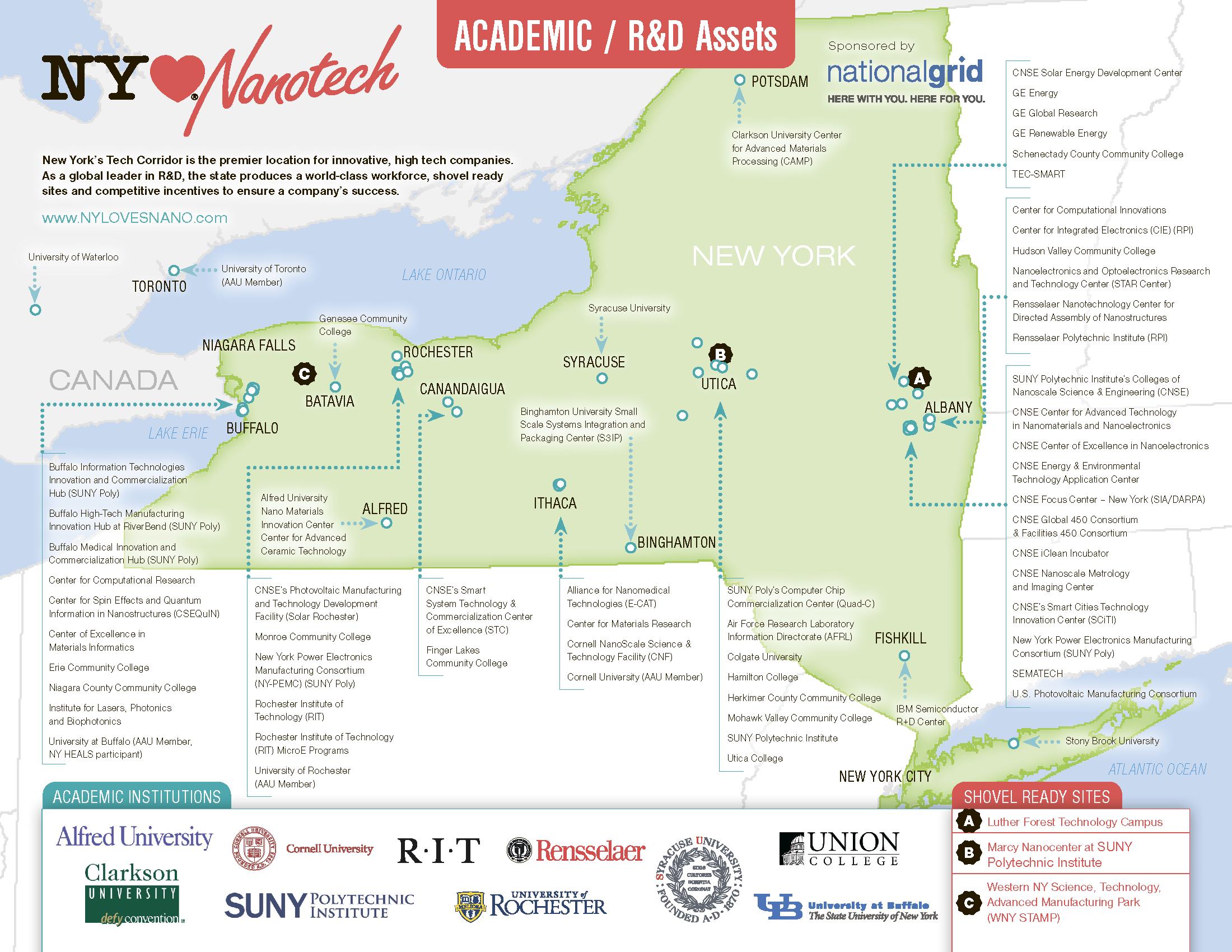 Нанотехнологии в штате Нью-Йорк: как университет SUNY и корпорации превратили штат в Кремниевую долину XXI века - 2