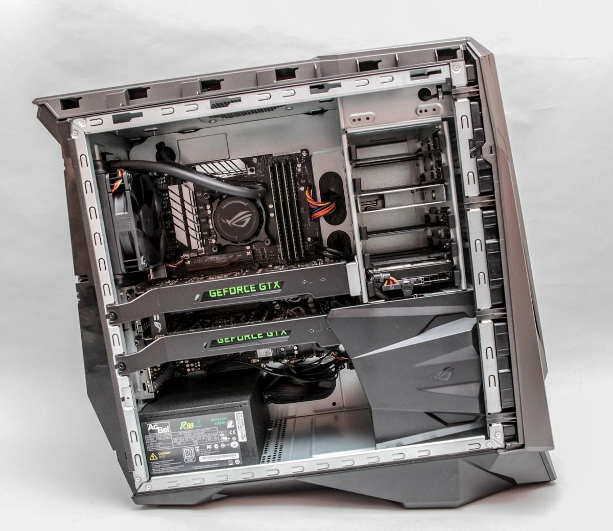 Обзор игрового системного блока ASUS ROG GT51CA - 22