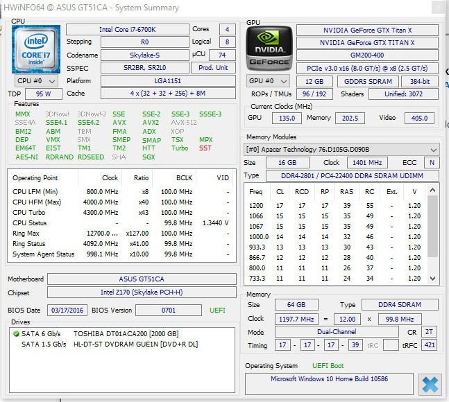 Обзор игрового системного блока ASUS ROG GT51CA - 55