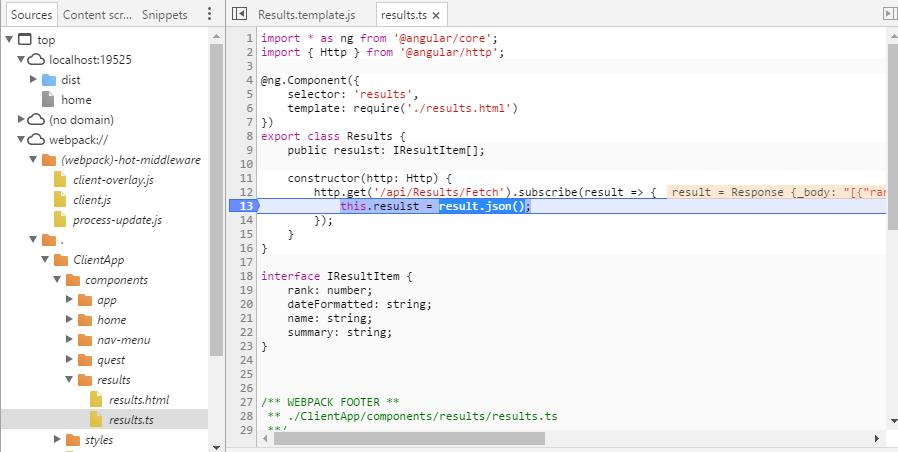 Пишем ХабраКвест на ASP.NET Core и Angular2 - 6
