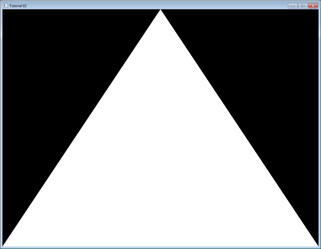 OpenGL-Tutorial. Урок 2. Первый треугольник - 2