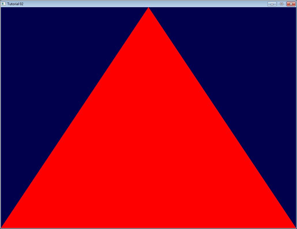 OpenGL-Tutorial. Урок 2. Первый треугольник - 3