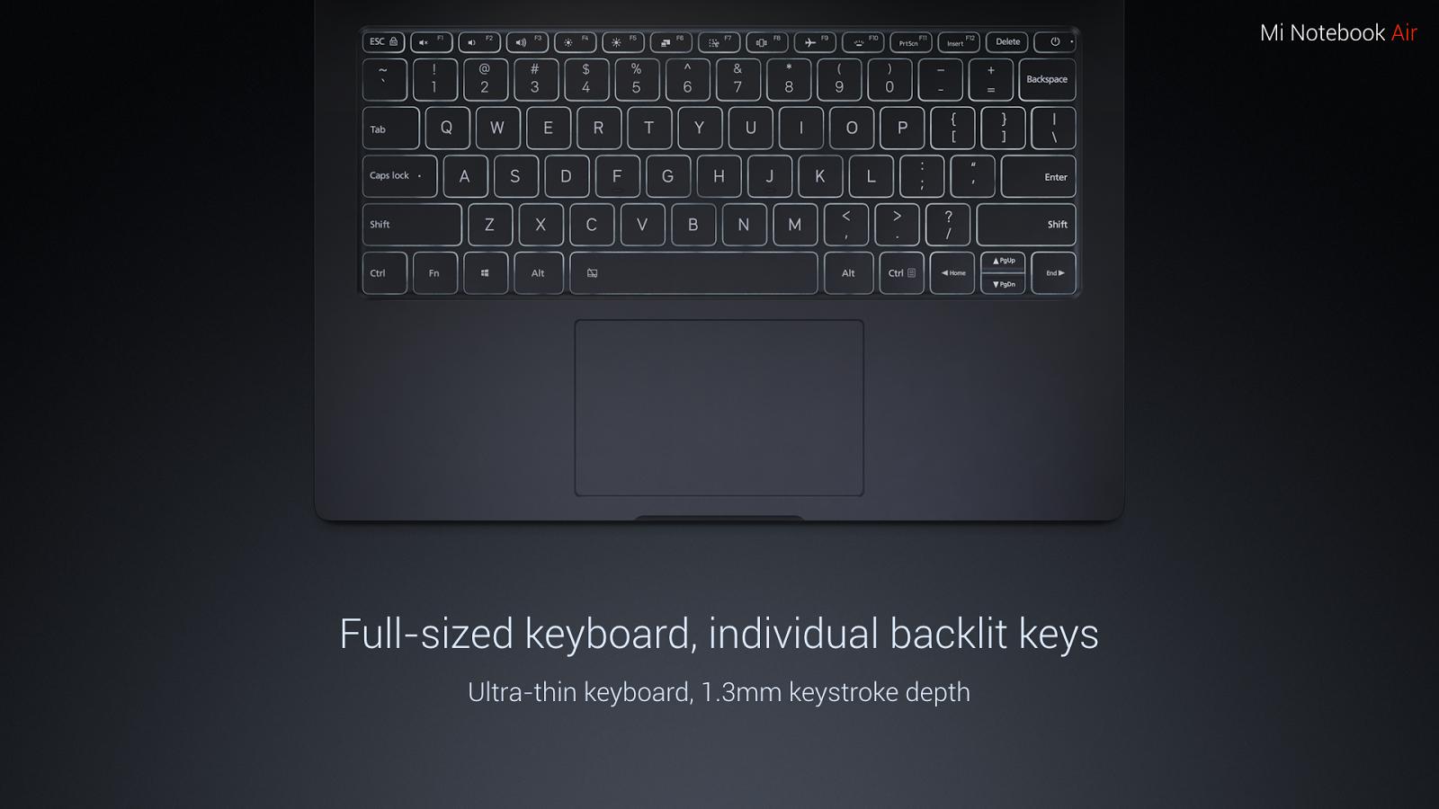 «Сами вы клоны!» или новые ультрабуки Mi Notebook Air от XIAOMI - 8