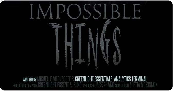 Сценарий к новому фильму ужасов «Impossible Things» написан с участием ИИ - 2