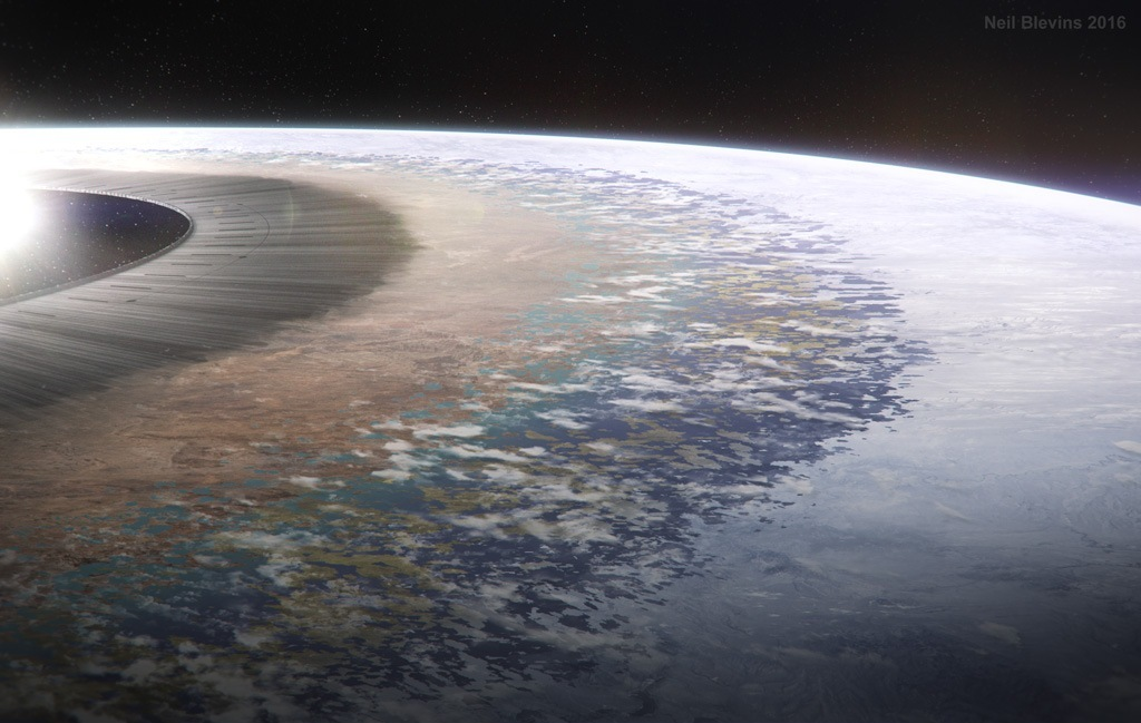Теоретически возможные космические мегаструктуры - 17