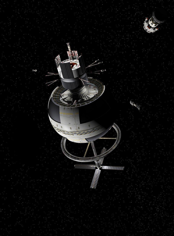 Теоретически возможные космические мегаструктуры - 9