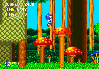 Обзор физики в играх Sonic. Части 7 и 8: пружины и штуковины, суперскорости - 8