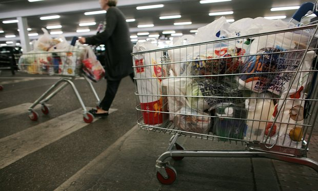 Использование пластиковых пакетов в Великобритании упало на 85% - 2