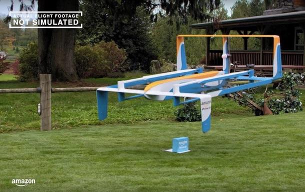 Amazon проведёт испытания дронов в Великобритании