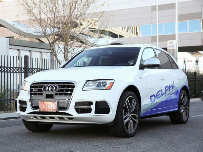 Delphi начнет тестировать самоуправляемые такси в Сингапуре