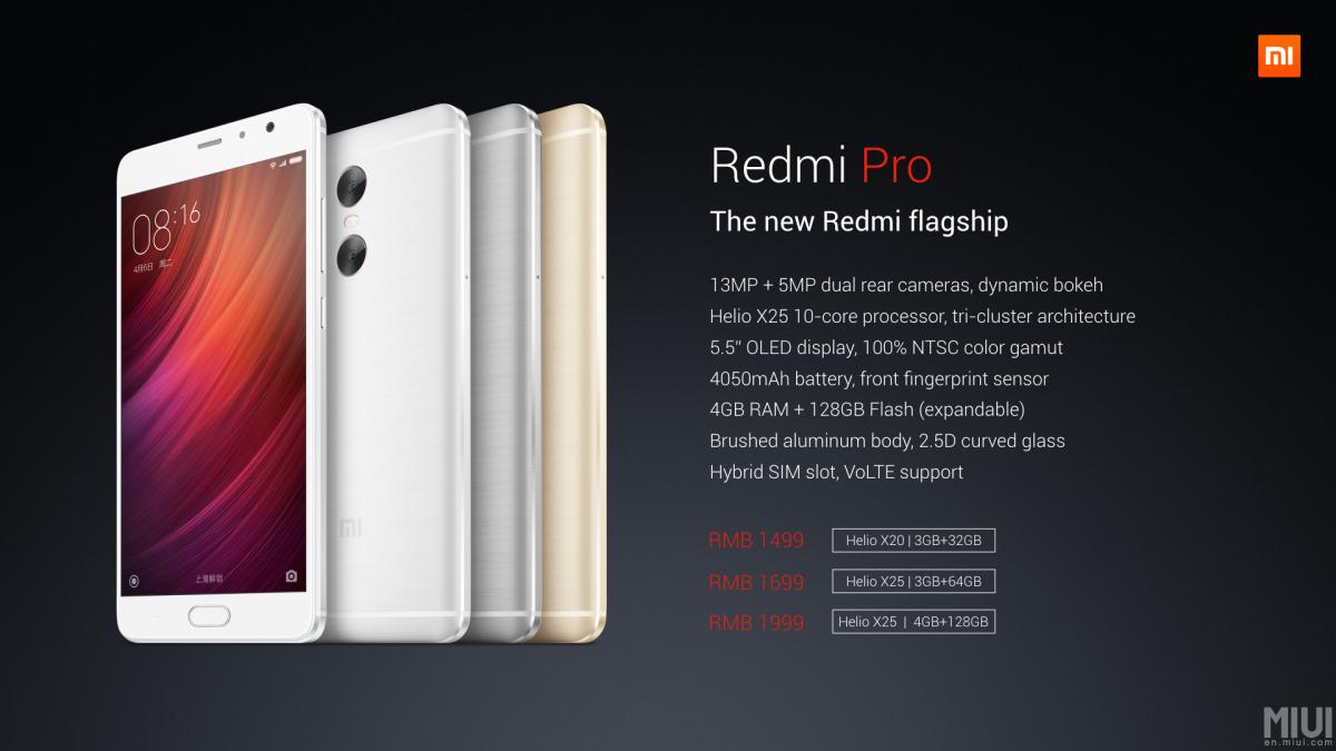 Redmi Pro — первый смартфон с двойной камерой от XIAOMI - 9