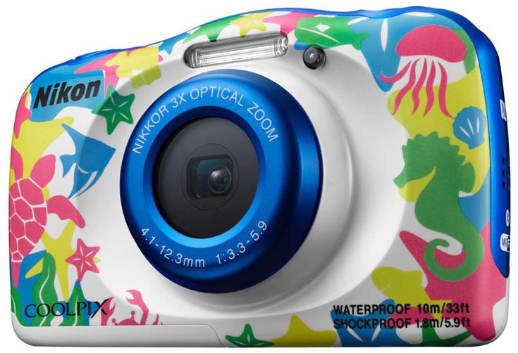 Степень защиты Nikon Coolpix W100 — IP68
