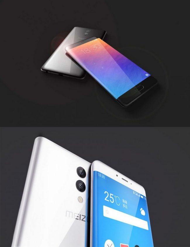 Новые изображения демонстрируют смартфон Meizu Edge с изогнутым дисплеем и сдвоенной камерой
